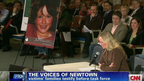 erin newtown victims families testify before task force_00012027.jpg