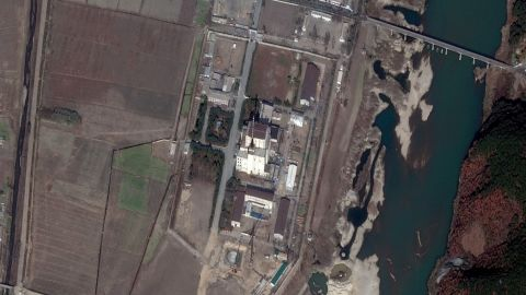North Korea Nuclear Test Site and Water Cooling Plant (Image licensed in November 2010)
