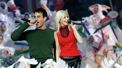 """In 2000, Christina Aguilera, Enrique Iglesias, Phil Collins and Toni Braxton performed in another <a href=""""http://www.youtube.com/watch?v=WN3okGx0rp8"""" target=""""_blank"""" target=""""_blank"""">Disney-themed halftime show</a>. The concept was """"Tapestry of Nations"""" and included a song called """"Reflections of Earth"""" and narration by actor Edward James Olmos. Need we say more?"""