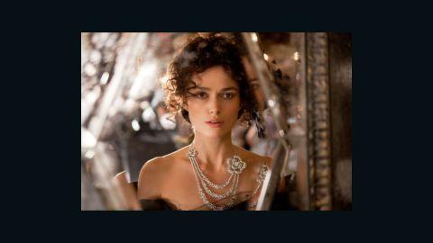 "Keira Knightley stars in a 2012 film adaptation of ""Anna Karenina"" by Leo Tolstoy (1873)"