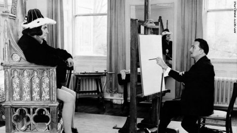 Richard III has been played by a host of stars, including Laurence Olivier, here being painted by Salvador Dali