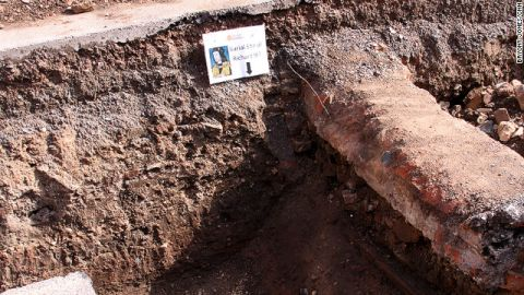 Remains matching the description of Richard III were found buried beneath a parking lot in the English city of Leicester last year