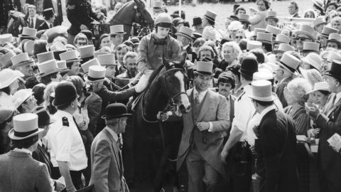 """""""I rode champions for many years afterwards and no one came close,"""" said British jockey Walter Swinburn, who as a 19-year-old rode Shergar to that historic Epsom Derby win."""