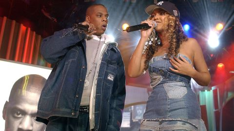 """In November 2002, before they tied the knot, Jay Z and Beyonce fueled rumors that they were dating by becoming musical collaborators. Beyoncé appeared on Jay Z's 2002 single """"03 Bonnie & Clyde,"""" and he appeared on her single """"Crazy In Love"""" the following summer."""