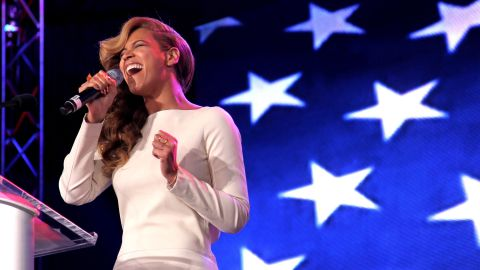 """After the inauguration dust-up, Beyonce had something to prove when she held a news conference for her Pepsi Super Bowl XLVII Halftime Show on January 31, 2013. After belting out """"The Star-Spangled Banner,"""" the singer paused and turned to the press and asked: """"Any questions?"""""""
