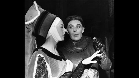 """Shakespeare's plays live on in hundreds of live productions staged each year around the world. Here, Paul Daneman and Eileen Atkins appear in """"Richard III"""" at London's Old Vic Theatre in 1962."""