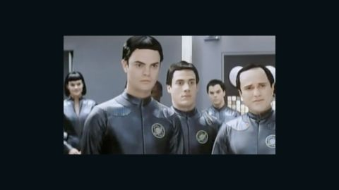"""Before his star-making turn as Dwight on """"The Office,""""  Rainn Wilson was one of the many Thermians in 1999's sci-fi spoof """"Galaxy Quest."""" However, the moment where he got the most screen time was this <a href=""""http://www.youtube.com/watch?v=9b4s5CfPD4Y"""" target=""""_blank"""" target=""""_blank"""">deleted scene</a>."""
