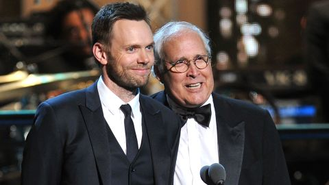 """Joel McHale told Howard Stern that Chevy Chase used the 'n'-word on the set of """"Community."""""""