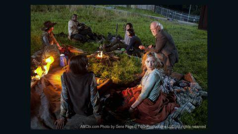 "Season 3 of AMC's ""The Walking Dead"" resumes Sunday."