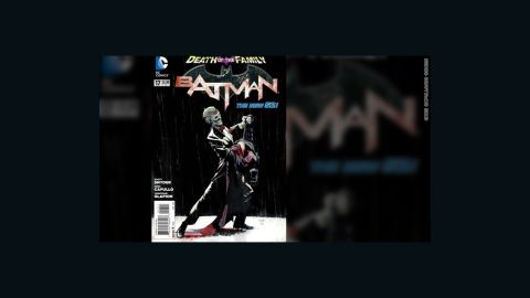 """""""Batman"""" #17, due out Wednesday, February 13, wraps up """"Death of the Family,"""" a months-long story arc in all of the """"Batman""""-related comic books, in which The Joker has gone after Batman by threatening and capturing his friends and allies, members of his Bat-""""family."""" Writer Scott Snyder unleashes a climactic bombshell, a final confrontation between The Joker and the Dark Knight. (DC Comics is owned by Time Warner, which owns CNN.) The title of the story echoes 1988's """"A Death in the Family,"""" which told the story of The Joker's brutal murder of the second Robin, Jason Todd. The following exclusive look at the first few pages of the story contains spoilers, as well as artwork which some might find disturbing."""