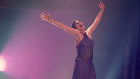 """Liza Minnelli won the 1972 best actress Oscar for her portrayal of Sally Bowles in director Bob Fosse's """"Cabaret."""""""