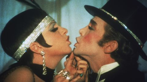 """Minnelli and Joel Grey in the famous """"Money, Money"""" number."""