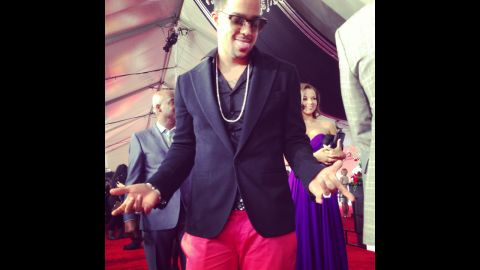 LMFAO's SkyBlu is sparkly and he knows it.