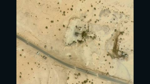 Dronestagram says this is the location of a October 28, 2012, drone strike. It is in eastern Saada, one of the poorest and most inaccessible areas of Yemen.