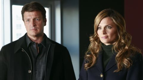 """Nathan Fillion and Stana Katic star on ABC's hit series """"Castle."""""""