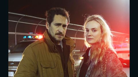 """Diane Kruger and Demian Bichir will star in FX's """"The Bridge."""""""