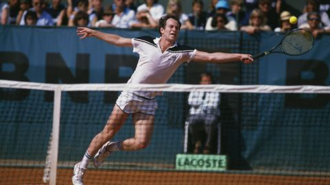 """""""French Open 1984, just the last few games."""" McEnroe's biggest tournament regret is blowing a two-set lead against Ivan Lendl and losing 3-6 2-6 6-4 7-5 7-5 in his only final at Roland Garros."""