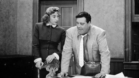 """""""Bang, zoom!"""" probably wouldn't fly these days on a TV sitcom, but audiences loved watching Jackie Gleason and Audrey Meadows spar (every bickering TV couple owes them a debt of gratitude), and they were reassured when so many episodes ended with Ralph telling Alice, """"Baby, you're the greatest."""""""