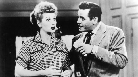 """Lucille Ball and Desi Arnaz portrayed a show business couple on """"I Love Lucy,"""" while behind the scenes they invented the sitcom. The real-life couple controlled every aspect of their hit show, still one of the most beloved of all time. And it wouldn't have been a hit if these two didn't make people fall in love with Lucy (and Ricky) every week."""