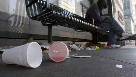 Bloomberg had a new target during his final State of the City speech on February 14: plastic foam containers. His proposed ban would target certain polystyrene foam products, not necessarily Styrofoam, a trademarked product of Dow Chemical Co., used in foam insulation and construction products.