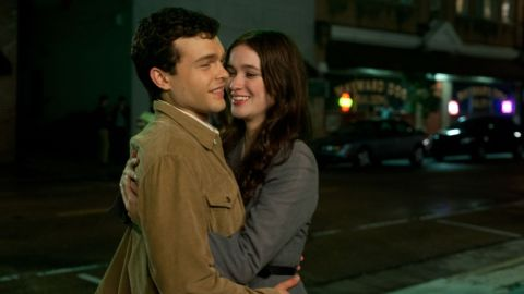 """Alden Ehrenreich stars as Ethan Wate and Alice Englert stars as Lena Duchaness in """"Beautiful Creatures."""""""