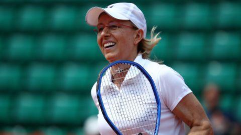 Tennis great Martina Navratilova came out in 1981.