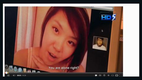 """A Singapore TV station created a 10-minute """"reconstruction"""" of how a webcam-blackmail scam may have gone down."""