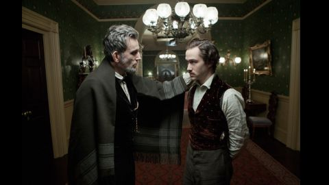 """The Steven Spielberg historical drama """"Lincoln"""" looks at the 16th president in the days leading up to the passing of the 13th Amendment banning slavery."""