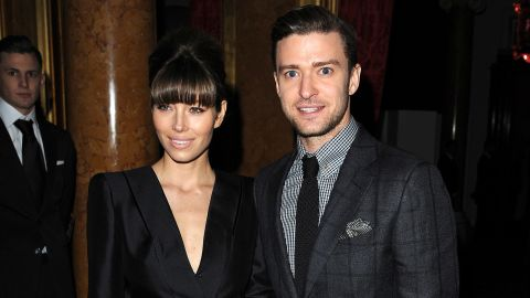 """We at first thought Justin Timberlake was going to serve us with another """"Cry Me A River"""" single after he and Jessica Biel<a href=""""http://www.cnn.com/2011/SHOWBIZ/03/11/timberlake.biel.split/index.html?iref=allsearch""""> broke up in 2011</a>. But just months later, <a href=""""http://marquee.blogs.cnn.com/2011/08/31/timberlake-and-biel-spotted-together-up-north/?iref=allsearch"""" target=""""_blank"""">the couple were seen biking together in Toronto</a>, and by the <a href=""""http://marquee.blogs.cnn.com/2012/01/06/did-justin-timberlakes-grandma-spill-engagement-news/?iref=allsearch"""" target=""""_blank"""">end of the year, the engagement rumors</a> started. They <a href=""""http://marquee.blogs.cnn.com/2012/10/22/justin-timberlake-my-wedding-was-magical/?iref=allsearch"""" target=""""_blank"""">wed in Italy in October 2012</a> and <a href=""""http://www.cnn.com/2015/04/20/living/justin-timberlake-jessica-biel-baby-feat/"""">had a son in April</a>."""