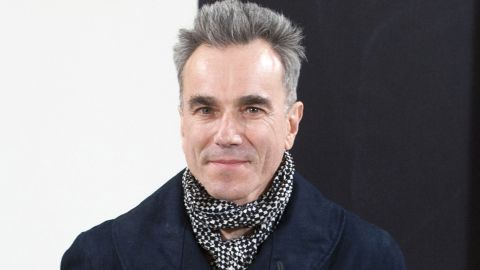 British actor Daniel Day-Lewis poses during a photocall prior to the screening US film director Steven Spielberg's movie 'Lincoln at the House of America in Madrid on January 16, 2013. AFP PHOTO/ EDUARDO DIEGUEZ (Photo credit should read EDUARDO DIEGUEZ/AFP/Getty Images)