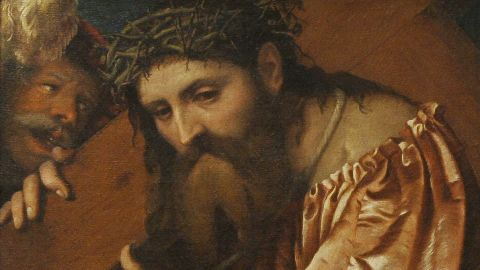 """Many works of art that were taken by the Nazis were never recovered. Others were returned after years of legal battles. """"Christ Carrying the Cross,"""" by Italian artist Girolamo de' Romani, was returned to its owner's family in 2012."""