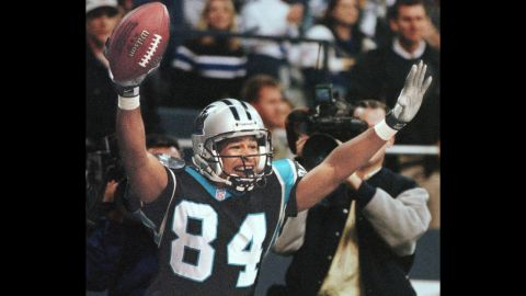 """<a href=""""http://sportsillustrated.cnn.com/vault/article/magazine/MAG1018022/index.htm"""" target=""""_blank"""">Rae Carruth</a>, who was a wide receiver for the Carolina Panthers, became the first active NFL player ever charged with first-degree murder. His pregnant girlfriend, Cherica Adams, was killed in December 1999, and prosecutors said he arranged for her to be killed in a drive-by shooting. Carruth was eventually convicted of conspiring in her murder, and he is now in prison. The unborn child, a boy, survived."""