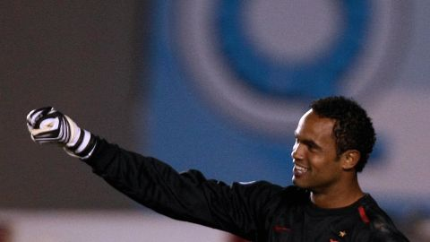 """<a href=""""http://www.cnn.com/2013/03/08/sport/brazil-goalkeeper-conviction/index.html"""" target=""""_blank"""">Bruno Fernandes das Dores de Souza</a>, a former goalie for the Brazilian soccer club Flamengo, was convicted in March 2013 for the murder of his ex-girlfriend. He was sentenced to 22 years and three months for the murder of Eliza Samudio, who  disappeared in 2010. Souza, his current girlfriend  and his ex-wife were among nine people charged with torturing and murdering Samudio, who had been trying to prove Souza had fathered her son."""