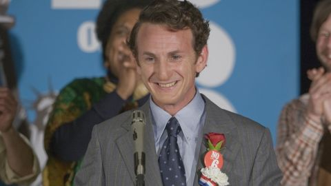 """Sean Penn won the Best Actor statue for his 2008 portrayal of the gay-rights hero in """"Milk."""""""