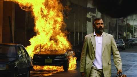 """George Clooney is Bob Barnes in the 2005 politically charged drama """"Syriana,"""" which focuses around the issues of Mideast oil, power and intrigue."""
