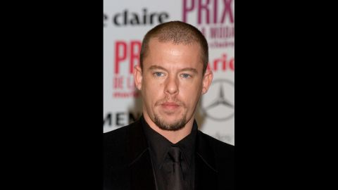 """British designer Alexander McQueen's technical skill as a tailor and boundless imagination at the helm of his own label made him one of his generation's most influential designers, despite earning the monicker """"enfant terrible"""" and his penchant for controversy. Soon after his mother died in February 2010, <a href=""""http://www.cnn.com/2010/SHOWBIZ/02/11/britain.alexander.mcqueen.dead/index.html"""">McQueen took his own life</a>. His former assistant, Sarah Burton, who was named head of McQueen's women's wear line in 2000, took over as creative director following his death. She went on to design Kate Middleton's royal wedding gown as well as sister Pipa's head-turning maid of honor dress."""