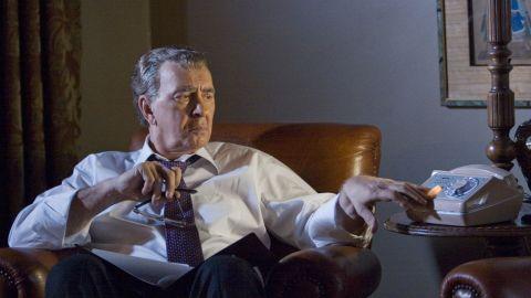 "Frank Langella played Richard Nixon in the 2008 film ""Frost/Nixon."""