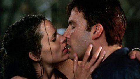 """Affleck and Jennifer Garner met as co-stars in 2003's """"Daredevil."""" At the time, she was married to actor Scott Foley and Affleck was engaged to Jennifer Lopez. Affleck and Garner married in 2005."""