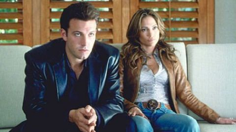 """Affleck and Jennifer Lopez fell in love on the set of 2003's universally panned """"Gigli."""""""