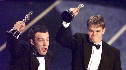 In 1998, Affleck and Matt Damon won the Academy Award for best original screenplay.