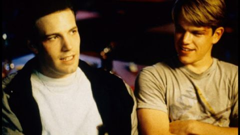 """Ben Affleck, left, and Matt Damon are friends on- and off-screen. They've worked together on films such as 1997's """"Good Will Hunting"""" and 2004's """"Jersey Girl."""""""