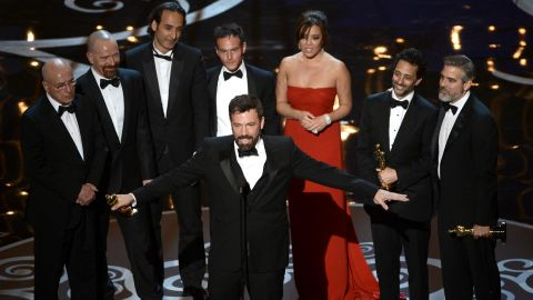 """Even though he wasn't nominated for a best director Oscar, it was comeback kid Ben Affleck's big night at the 85th Academy Awards. His film """"Argo"""" took home top honors as the year's best picture. From child actor to Hollywood heavyweight, see Affleck's road to gold:"""