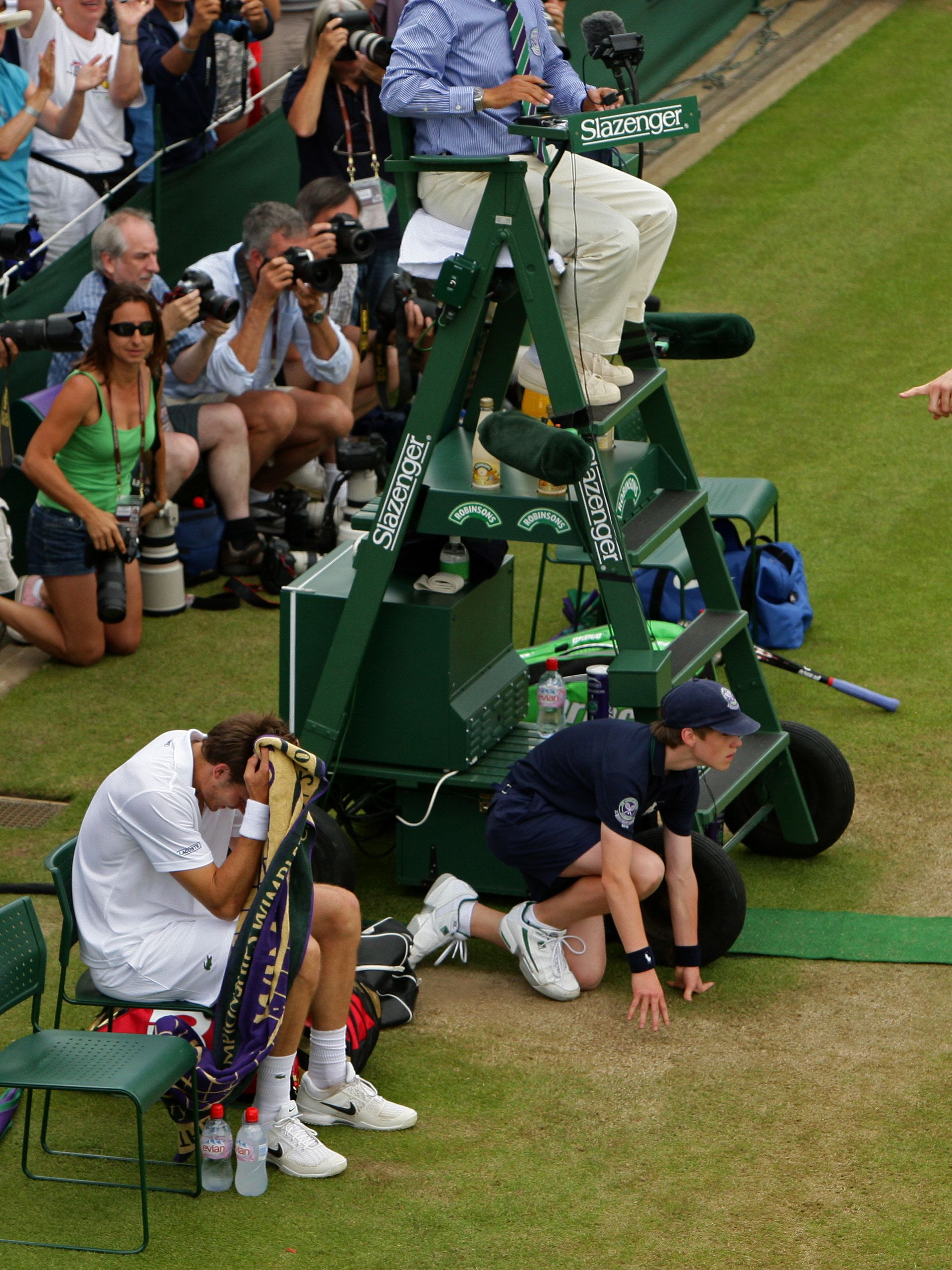 Mahut was heartbroken in defeat and suffered another defeat when the pair were drawn to face each other the following year. The 2011 clash ended 7-6 6-2 7-6, took a full nine hours less and featured 149 fewer games.