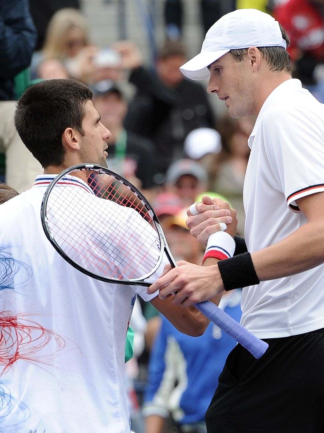 """Isner made his first grand slam quarterfinal at the U.S. Open in 2011 and relishes the big stage: """"I think that's one of the main reasons why I beat Federer, I beat Djokovic and I almost beat Rafa at the French Open of all places. That's why you play this game -- to get a crack at those guys. Try to take it to them."""""""