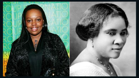 """Madam C. J. Walker, right, was a beauty pioneer who became a self-made millionaire (and possibly the first African-American woman millionaire) from her home-made shampoo and scalp remedies. She toured the country lecturing and educating others about her grooming techniques and hair care formulations. <a href=""""https://www.covergirl.com/makeup-tips/makeup-artists/pat-mcgrath"""" target=""""_blank"""" target=""""_blank"""">Make-up artist Pat McGrath</a>, who is British rather than African-American, is the heir to Walker's creativity and entrepreneurial spirit. Her signature use of color has caught the attention of designers like Jil Sander and photographers such as Steven Meisel and Helmut Newton. She is the global creative design director for Procter and Gamble, in charge of make up brands like Cover Girl and Max Factor."""