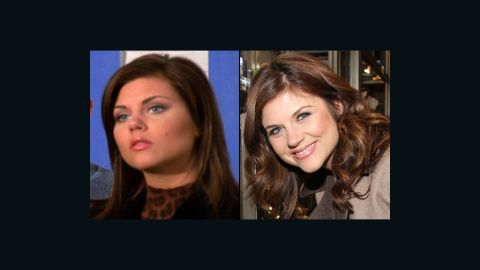 """Tiffani Thiessen dropped the """"Amber"""" from her name and traded in Valerie Malone for Elizabeth Burke, her character on USA's """"White Collar."""" In 2009, she starred in a Funny or Die video called <a href=""""http://www.funnyordie.com/videos/d082b452ae/tiffani-thiessen-is-busy"""" target=""""_blank"""" target=""""_blank"""">""""Tiffani Thiessen Is Busy.""""</a> The comedic short was her response to Jimmy Fallon and fans begging for a """"Saved by The Bell"""" reunion. In March, the actress premiered a program on <a href=""""http://www.cookingchanneltv.com/shows/dinner-at-tiffanis.html"""" target=""""_blank"""" target=""""_blank"""">The Cooking Channel called """"Dinner at Tiffani's."""" </a>"""