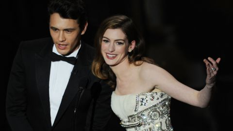 Hathaway teams up with James Franco to host the 83rd annual Academy Awards in February  2011.