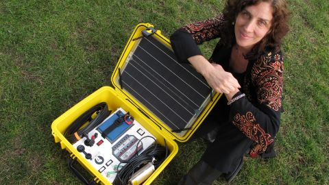 These solar energy kits provide much-needed light as well as power for all the necessary medical equipment.