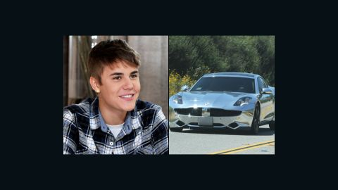 """When you're Justin Bieber, you get a $100,000 electric sports car for your 18th birthday -- and <a href=""""http://marquee.blogs.cnn.com/2012/03/01/justin-bieber-gets-birthday-surprise-on-ellen/"""">from Ellen DeGeneres on her talk show</a>, no less."""
