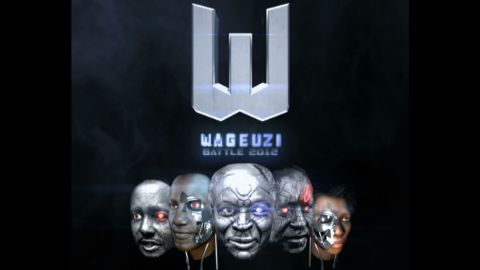 """""""Wageuzi,"""" which means """"transformers"""" but also """"changemakers"""" in Swahili, is a 3D animated short film portraying Kenya's political candidates fighting it out for the country's presidency."""